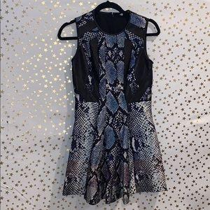 DVF snakeskin dress